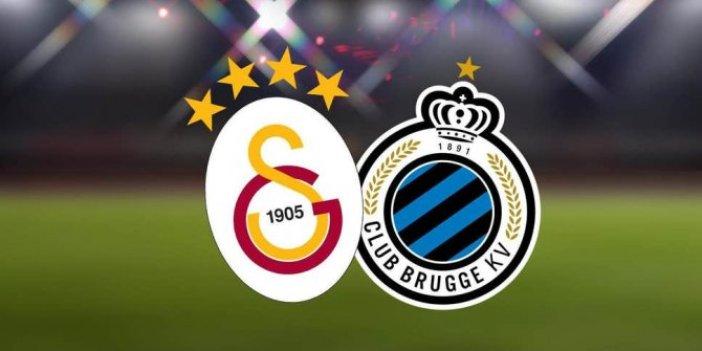 Galatasaray Club Brugge maçı saat kaçta, hangi kanalda?