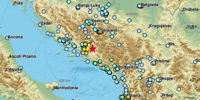 Son dakika: Arnavutluk'un ardından Bosna Hersek'te de deprem oldu