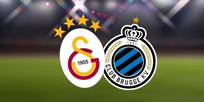 Galatasaray, Club Brugge ile kader maçına çıkıyor