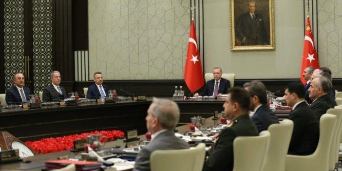 MGK'dan Barış Pınarı açıklaması