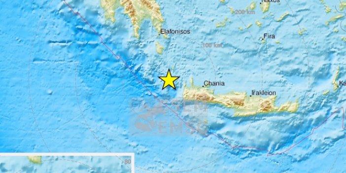 Yunanistan'da 6 şiddetinde deprem