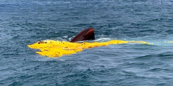 Son dakika: Moritanya'da Türk balıkçı gemisi battı