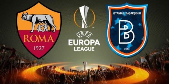 Başakşehir, Roma ile tur maçına çıkıyor: Maç saat kaçta?