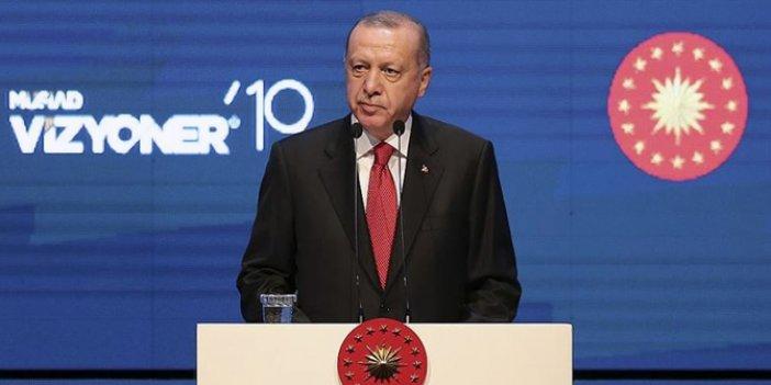 Cumhurbaşkanı Erdoğan'dan Abdullah Gül'e gönderme