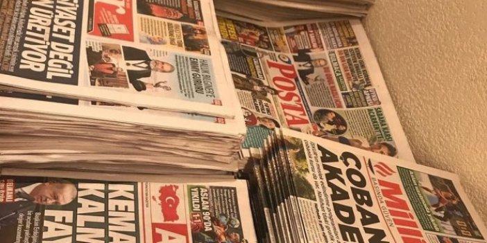İktidara yakın gazeteler bedava dağıtılıyor ama...