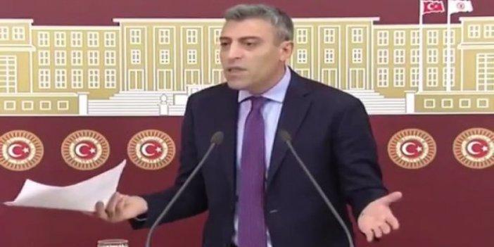 Öztürk Yılmaz Meclis'te gazetecilere isyan etti