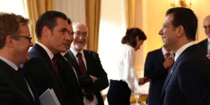 İmamoğlu, yabancı oda başkanlarıyla buluştu