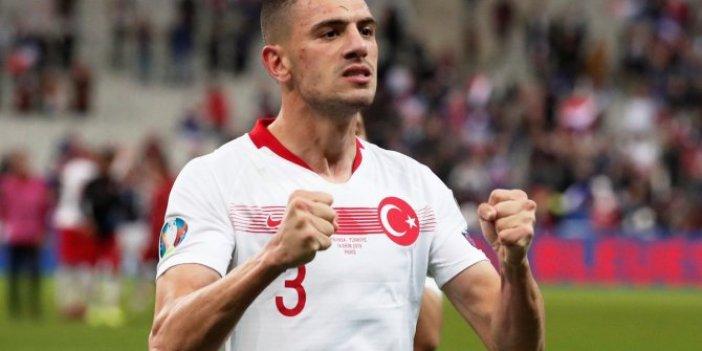 Merih Demiral Euro 2020'nin en iyi 11'inde
