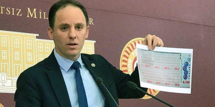 CHP'li Deniz Yavuzyılmaz'dan 'Milli Piyango' iddiası!