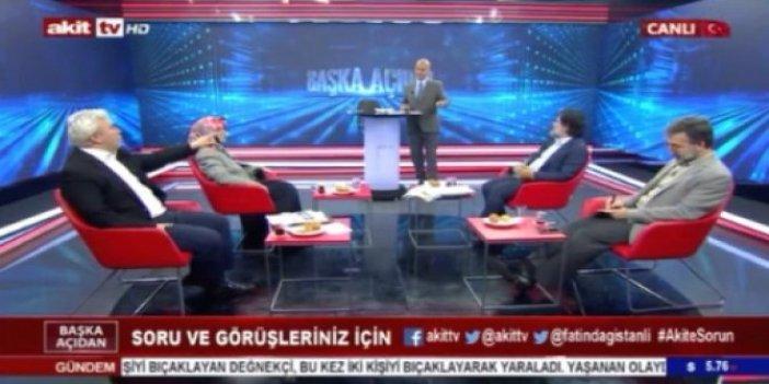 Fatih Dağıstanlı ile Mustafa Kurdaş Akit TV canlı yayınında tartıştı