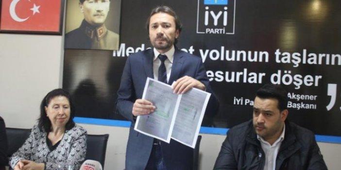 İYİ Parti'den Uşak Belediyesi hakkında suç duyurusu