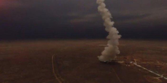 UFO sanılan cisim Rus füzesi çıktı