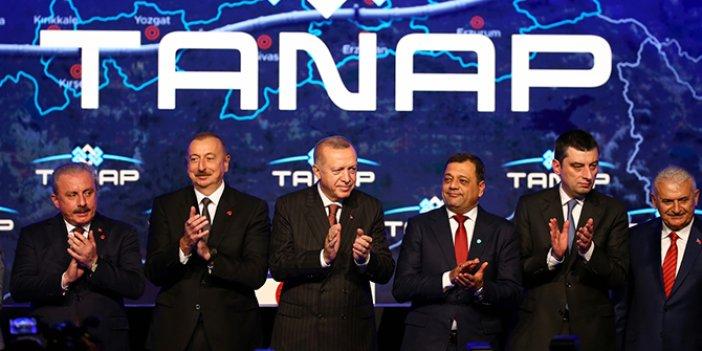 TANAP gazı Avrupa'ya bağlandı