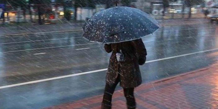 Meteoroloji açıkladı: Birçok şehirde yağış bekleniyor
