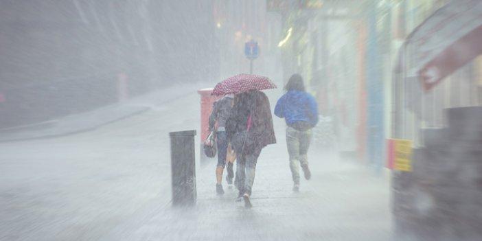 Son dakika: Meteoroloji'den 'turuncu' uyarı! Sağanak yağış ve kar bekleniyor