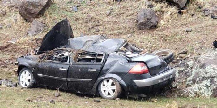 Kaza yapan astsubaydan acı haber