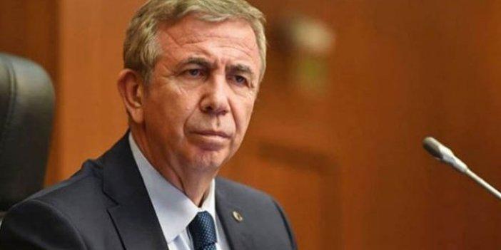 Mansur Yavaş'tan Ankaragücü açıklaması