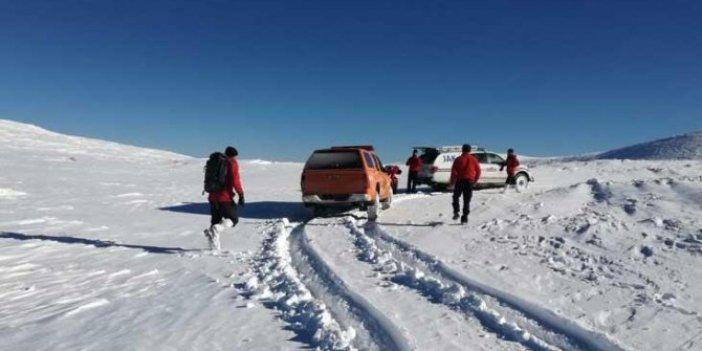 Uludağ'da 2 dağcı kayboldu