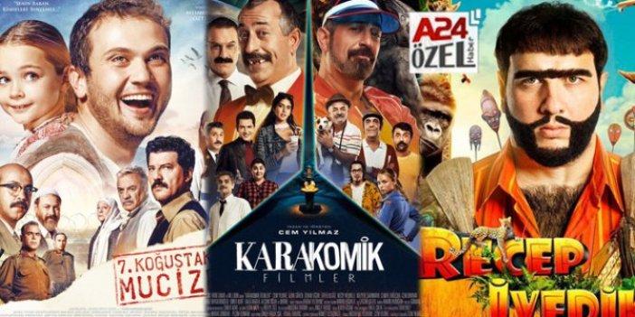 İşte yılın en çok izlenen filmleri