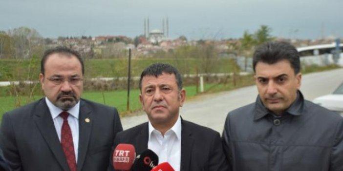 CHP heyeti, Selahattin Demirtaş'ı cezaevinde ziyaret etti