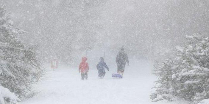 Son dakika: Meteoroloji'den kar uyarısı geldi