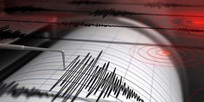 Akdeniz'de 3,4 büyüklüğünde deprem!