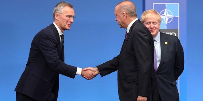 NATO zirvesinde ilginç an: Birden Erdoğan'ı durdurdular