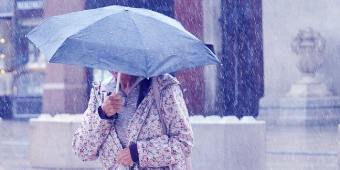 Son dakika: Meteoroloji saat verip uyardı! Sağanak yağış ve kar...