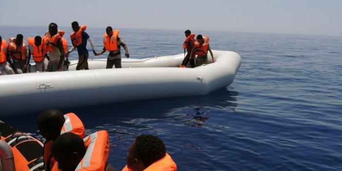 Kaçak göçmen faciasında 57 kişi öldü