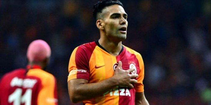 'Radamel Falcao Galatasaray'dan ayrılıyor' iddiası