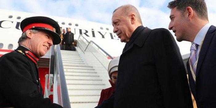 Erdoğan Londra'dan ayrıldı