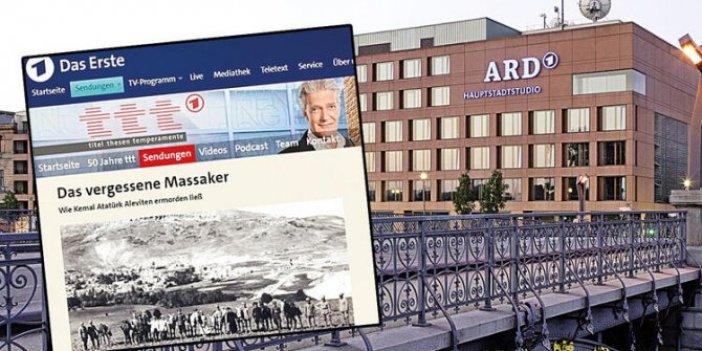 Alman devlet televizyonundan Atatürk'e iftira!