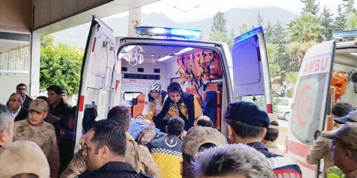 Teröristlerin mayını infilak etti: 4 askerimiz yaralı