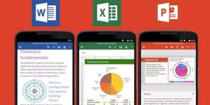 Mobil Office uygulamalarının tasarımı değişiyor