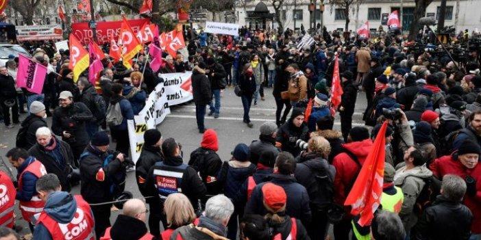 Fransa'da protestolar devam ediyor