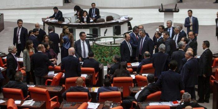 Meclis'te sinirler yine gerildi