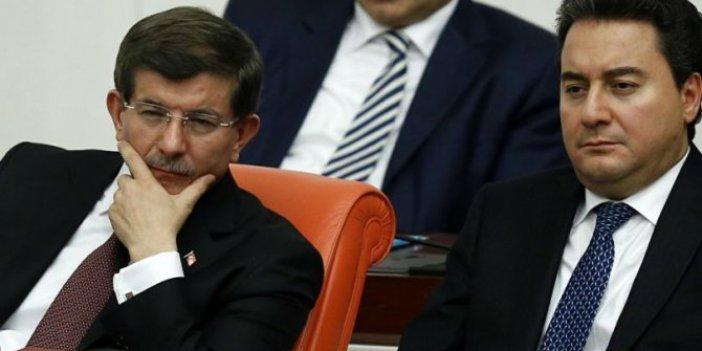 AKP'den Ahmet Davutoğlu ve Ali Babacan'a ikna harekatı