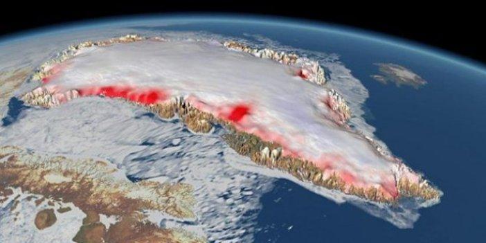 Küresel ısınmada büyük tehlike! 7 kat hızlı eriyor