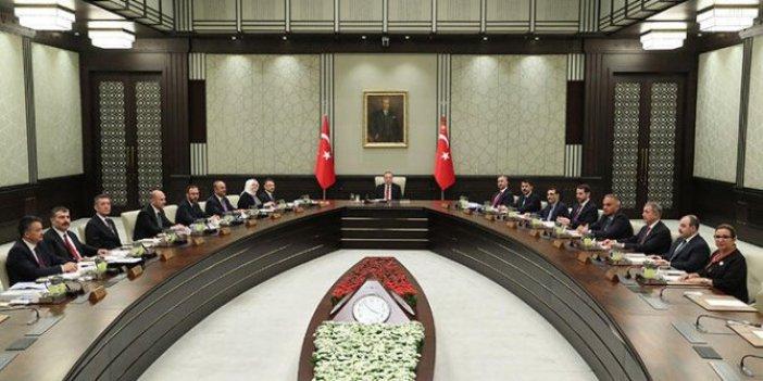 Yılın son Kabine toplantısı başladı