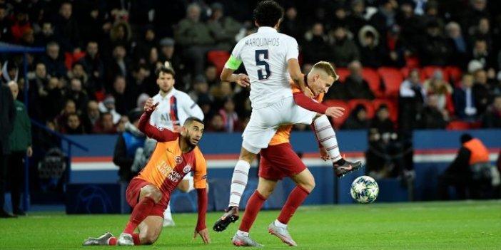 PSG-Galatasaray 5-0 (Maç Özeti)