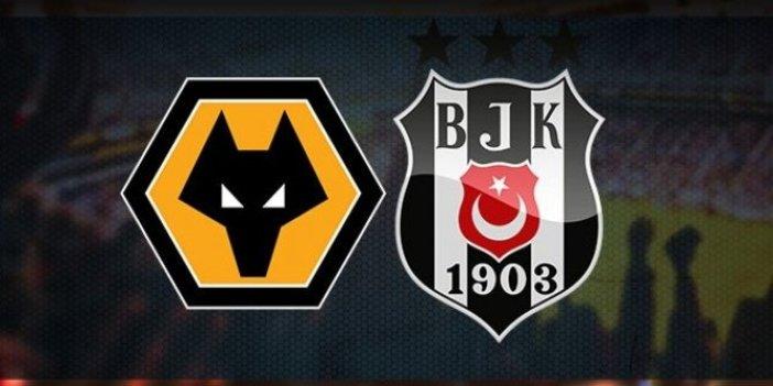 Wolverhampton - Beşiktaş 4-0 (Maç özeti)
