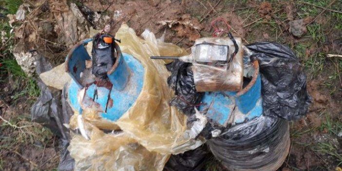 Resulayn'da 12 kilogramlık iki tüp imha edildi