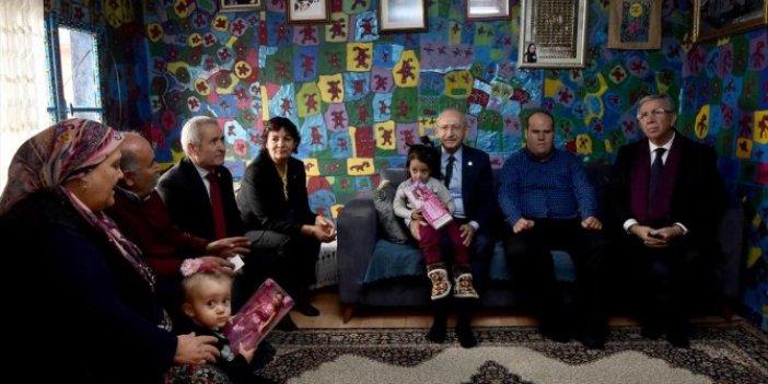 Kemal Kılıçdaroğlu'ndan ressam Yalçın'a ziyaret