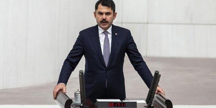 Murat Kurum'dan 'Kanal İstanbul' açıklaması