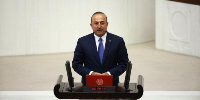Bakan Çavuşoğlu'ndan Barış Pınarı açıklaması