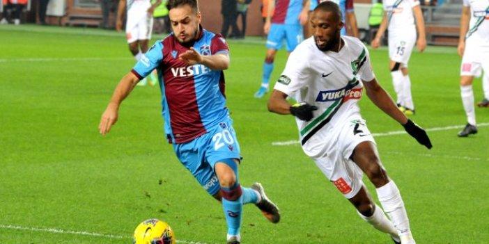 Trabzonspor-Denizlispor 1-2 (Maç özeti)
