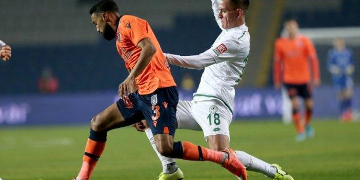 Başakşehir-Konyaspor: 1-1 (Maç özeti)