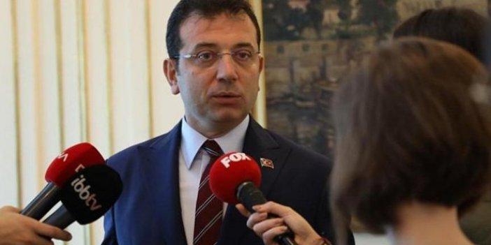 """Ekrem İmamoğlu: """"Kanal İstanbul için gerekirse referanduma gidilmeli"""""""