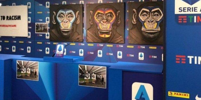İtalya'da ırkçılığa karşı maymunlu kampanya!