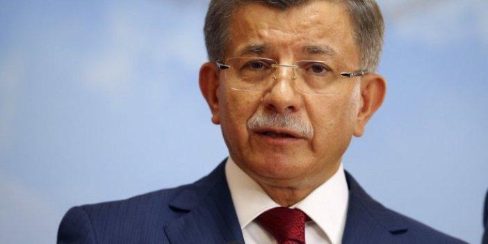 """Ahmet Davutoğlu: """"İlk defa burada açıklıyorum..."""""""